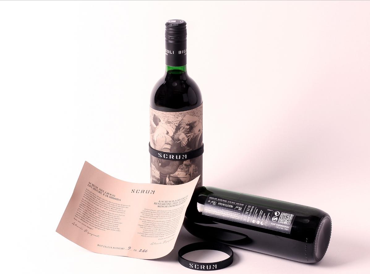 Scrum Rotwein